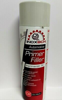 Spray Pintura Imprimacion Acrilica Para Carroceria Color Gris 500 Ml