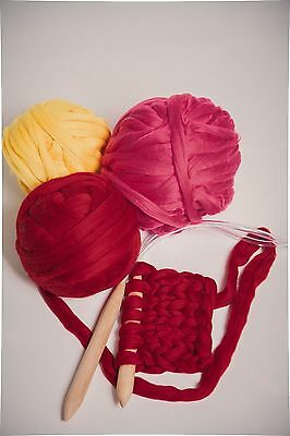 Chunky Wool Yarn. Super Bulky Knitting. 100% wool. Choose Color and Weight