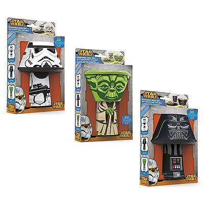 Star Wars Stacking Meal Sets Children's Cup Bowl Plate Plastic Lunch Dinner Set