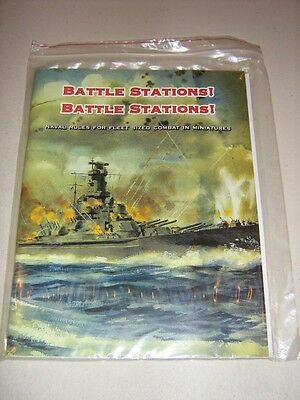 Battle Stations! Battle Stations! Naval Rules for Fleet Sized Combat Miniatures