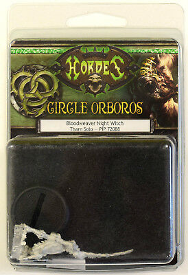 Hordes Circle Orboros Bloodweaver Night Witch Tharn Solo PIP 72088 - NEW