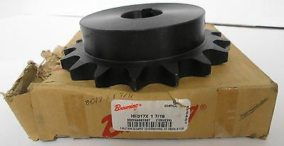 Browning H8017X 1 7/16 Finished Bore Roller Chain Sprocket