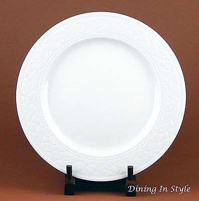"10-1/2"" Dinner Plate, Somerset, Royal Worcester, England, Basket Weave"