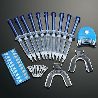 Teeth Whitening Dental Bleaching Tooth Whitener Gel Dental Trays Home Kit Y3H8