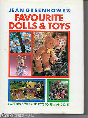 Jean Greenhowe Favourite Dolls & Toys Over 100 dolls and toys to knit HardCover