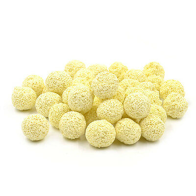 40 Pcs Aquarium Porous Media Ceramic Filter Biological Ball Fish Tank Supplies