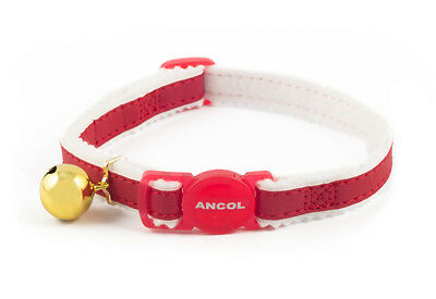 Ancol Safe Reflective Cat Collar Red