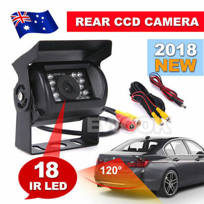 OZ Monitor Car Rear View Camera CCD 18 IR LED Reverse Waterproof Night Vision