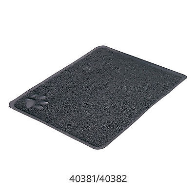 Trixie Cat Litter Tray Mat PVC Anthracite Rectangle / 40x60cm
