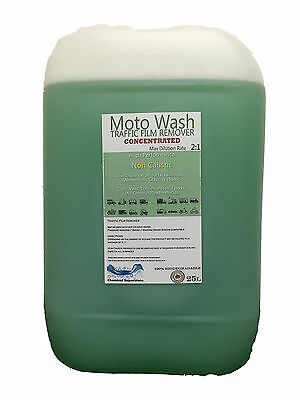 2:1 Non-Caustic Motowash Traffic Film Remover Tfr 25L