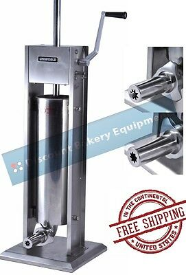 Churro Maker Machine Deluxe Stainless Steel 15lb Capacity, UCM-DL7