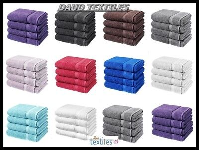 Luxurious Pack Of 2 Or 4 Bath Sheets 100% Cotton Bathroom Shower Towel Sheet New