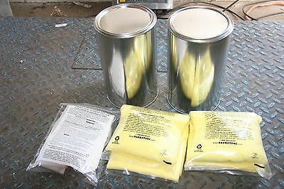 LOT (2) Hazmatpac 1 Liter Bottle in a Can Shipping System K-150