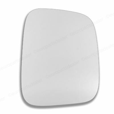 Driver Side WING DOOR MIRROR GLASS For VW Caddy 2004-2016 Stick On Right