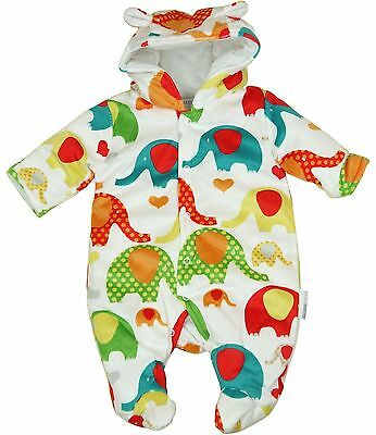 BabyPrem Baby Boys Girls Clothes Winter Pramsuit Snowsuit Padded All in One