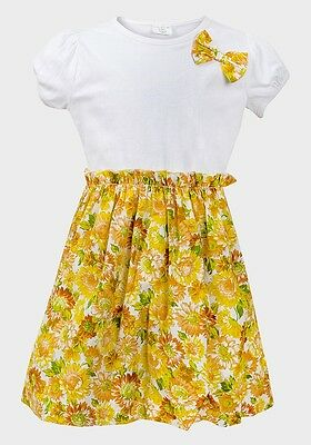 Girls Bnwot yellow Summer Floral Sun Dress size 2 years *CLEARANCE*