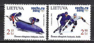 LITHUANIA 2014 **MNH SC#  Winter Olympic Games - Sochi