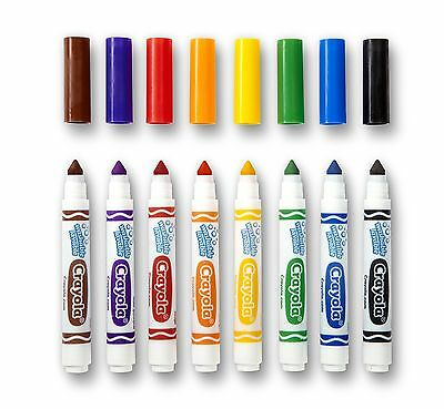 Crayola 8-Ultra Clean Washable Broad Marker
