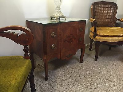 Pair Louis XV Reproduction Antique Nightstands (2) - handmade in ITALY