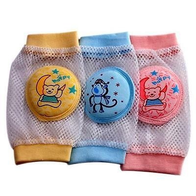 Baby Kids Safety Crawling Knee Cushions Pads Infants Child Protectors Pair/2Pcs