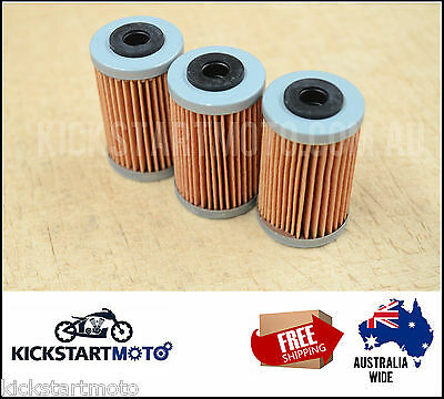 Oil Filters for KTM 450EXC 450SX-F EXC SX-F 450 14-16 2014 2015 2016 2013