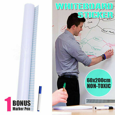 Self-Adhesive Wall Sticker Wall Whiteboard Paper Chalkboard Contact Paper