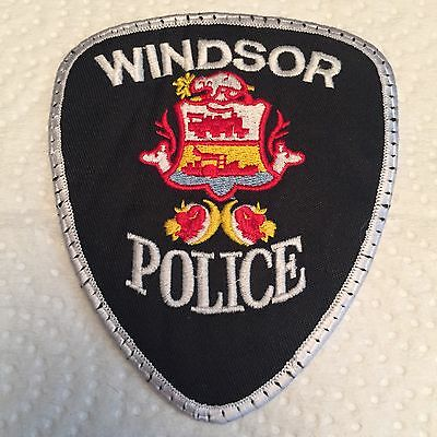 Windsor Ontario Police Patch Canada