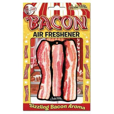 Bacon Car Air Freshener Gift Fun Joke Kitsch Retro Novelty Lover