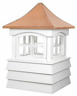 "Good Directions Guilford Cupola 26""es x 41""es Vinyl-Copper New"