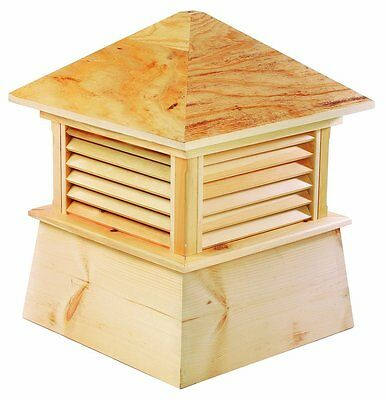 "Good Directions Kent Cupola 22""es x 27""es Cypress Wood New"