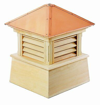 "Good Directions Manchester Cupola 30""es x 40""es Cypress Wood-Copper New"