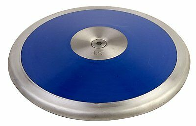 Champion Sports Lo Spin Competition ABS Plastic Discus In Blue/ Silver LS16 New