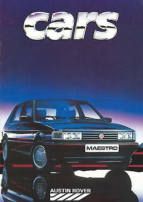 Austin Rover Brochure Inc Metro Mini Montego Rover 200 series 23 pages Exc Cond