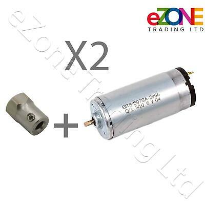 2X Electric Motor Spare for EASYCUT Hand-Held Knife Doner Kebab Shawarma