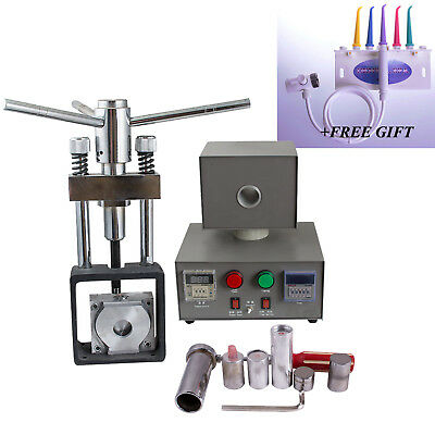 400W Dental Lab Equipment Flexible Denture Injection System Partial Machine