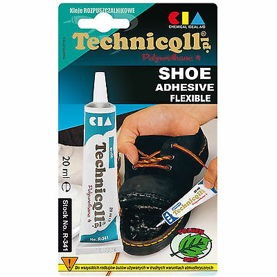 Technicqll Transparent Shoe Glue Rubber Nylon Leather Felt Strong Adhesive R341
