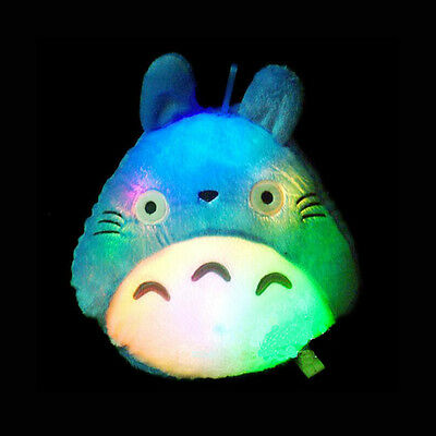 My Neighbor Totoro Pillow Cushion Led Colorful Luminous plush cushion Home Decor