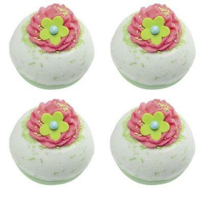 Bomb Cosmetics Apple and Raspberry Swirl Bath Blaster x 4