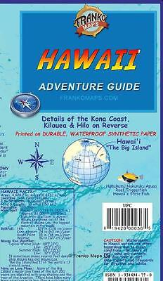 The Big Island Hawaii Adventure Guide Map Waterproof by Franko Maps
