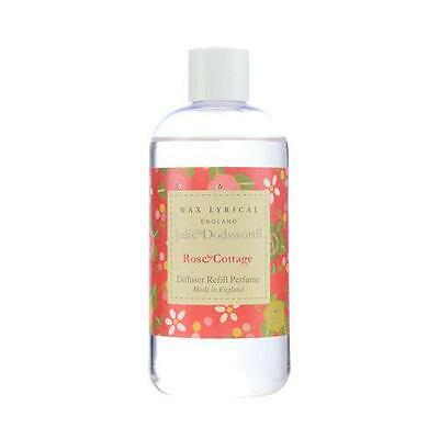 Wax Lyrical Julie Dodsworth Rose Cottage 250ml Reed Diffuser Refill