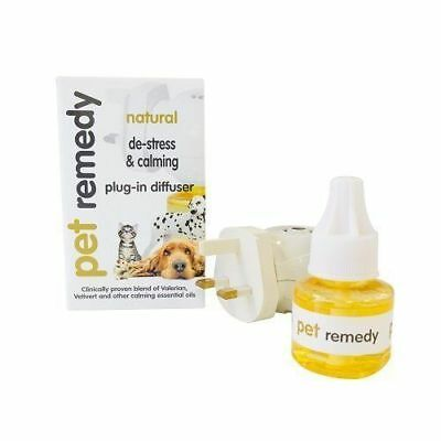 Pet Remedy Natural De-Stress and Calming Plug-In Diffuser and Refill 40ml