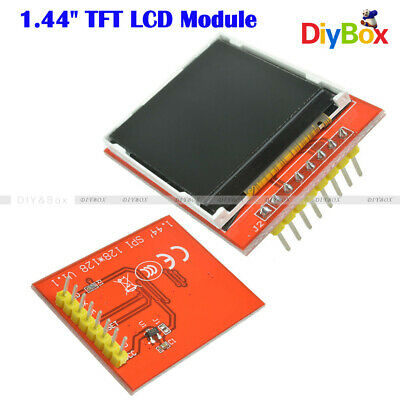 "128X128 1.44"" Serial TFT LCD Module SPI Red Color Display Replace Nokia 5110 LCD"