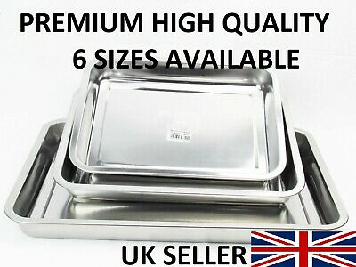 High Quality Stainless Steel Roasting Baking Oven Tray