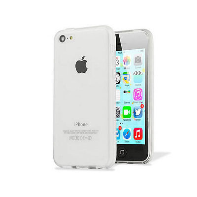 Ultra Slim Thin Transparent Clear Silicone Gel Case Cover for Apple iPhone 5C
