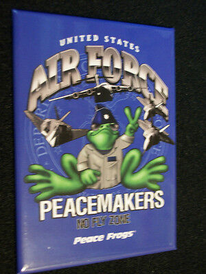 New Peace Frogs Us Air Force Magnet