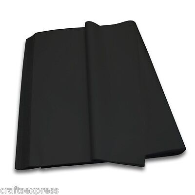 BLACK Coloured Tissue Paper Acid Free Sheets 750mm x 500mm