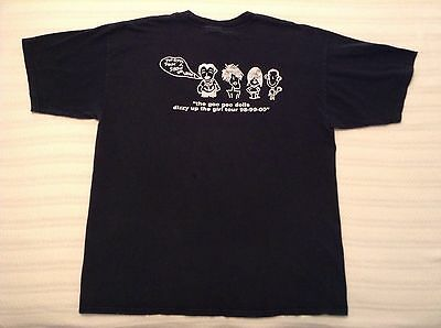 VTG 90's GOO GOO DOLLS LOCAL CREW DIZZY UP THE GIRL CONCERT TOUR T SHIRT XL