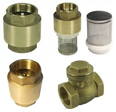 "Spring Check Valve, Swing Clack non-return Valve 1/2""-1"" BSP"
