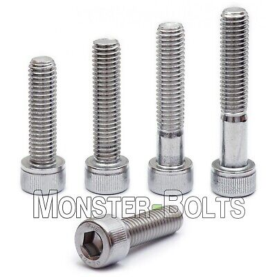 M4 Stainless Steel Socket Head Cap Screws, A2 / 18-8 Metric DIN 912, 0.70 Coarse