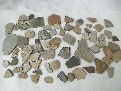 Ancient Pottery Shards Southwest & Anasazi collected from 1920's to 40's 60+ pcs